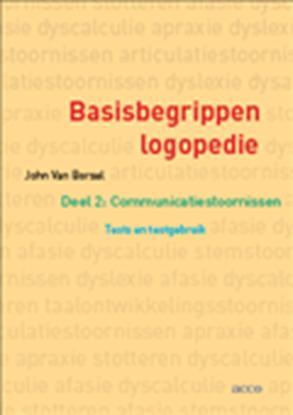 Afbeeldingen van Basisbegrippen logopedie 2 Communicatiestoornissen: Tests en testgebruik