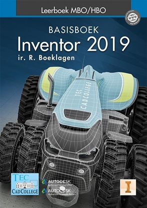 Afbeeldingen van Inventor 2019 Leerboek MBO/HBO Basisboek