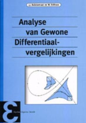 Afbeeldingen van Epsilon uitgaven Analyse van gewone differentiaalvergelijkingen