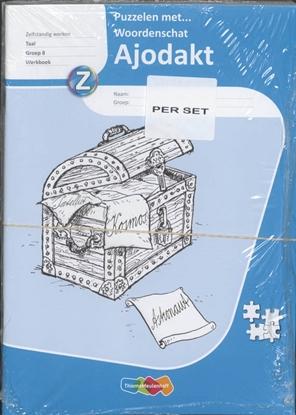 Afbeeldingen van Ajodakt taal 8 Puzzelen met woordenschat set 5 ex