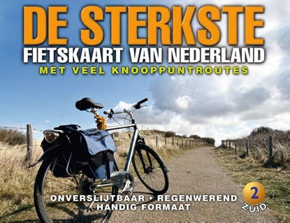 Afbeeldingen van De sterkste fietskaart van Nederland 2 Midden- en Zuid-Nederland