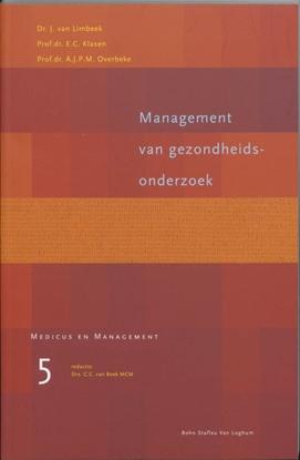 Afbeeldingen van Medicus & Management Management van gezondheidsonderzoek