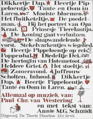 Afbeeldingen van Dikkertje Dap en 18 andere liedjes