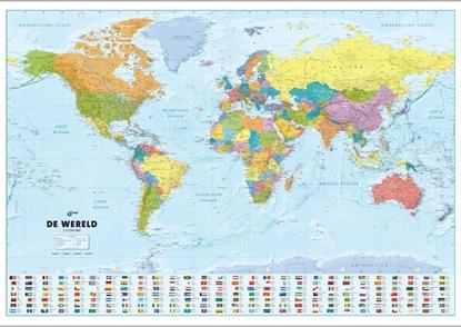 Afbeeldingen van ANWB Wereldkaart (Plano in Koker)
