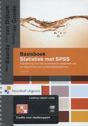 Afbeeldingen van Basisboek statistiek met SPSS
