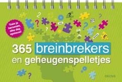 Afbeeldingen van 365 breinbrekers en geheugenspelletjes