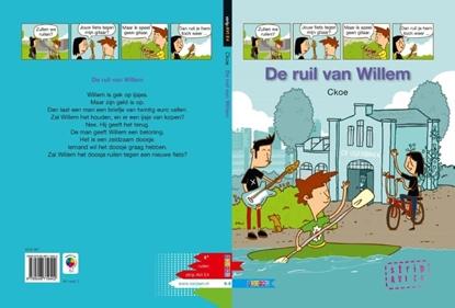 Afbeeldingen van AVI strip De ruil van Willem