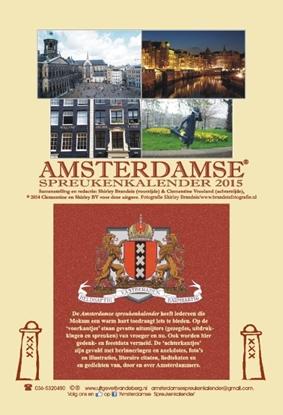 Afbeeldingen van Amsterdamse spreukenkalender 2015