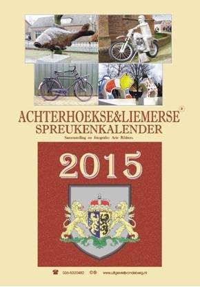 Afbeeldingen van Achterhoekse en Liemerse spreukenkalender 2015
