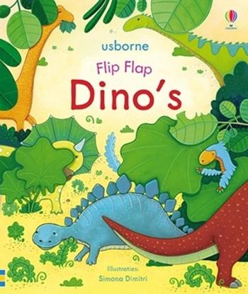 Afbeeldingen van Flip flap dino's