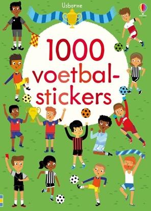 Afbeeldingen van 1000 Voetbalstickers