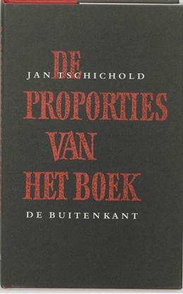 Afbeeldingen van De proporties van het boek