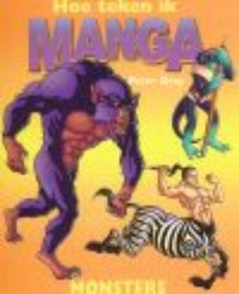 Afbeeldingen van Hoe teken ik manga Monsters