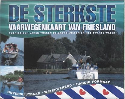 Afbeeldingen van De sterkste vaarwegenkaart Friesland