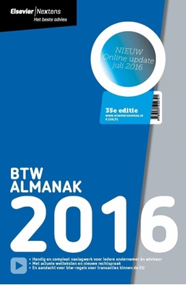 Afbeeldingen van Elsevier BTW Almanak 2016
