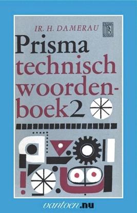 Afbeeldingen van Vantoen.nu Prisma technisch woordenboek 2