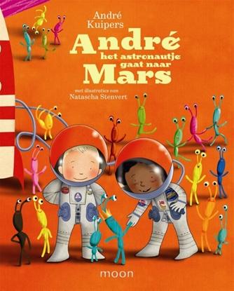 Afbeeldingen van Andre het astronautje gaat naar Mars