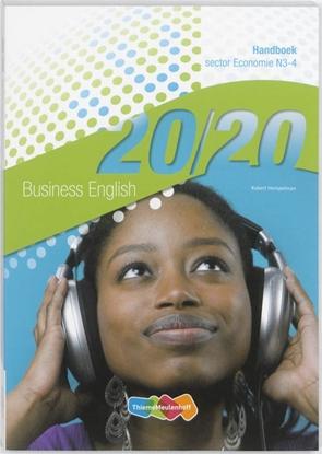Afbeeldingen van 20/20 Business English Handboek N3-4 sector Economie