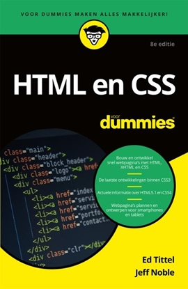 Afbeeldingen van Voor Dummies HTML en CSS voor Dummies