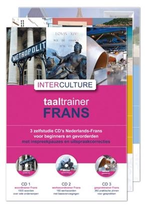Afbeeldingen van Interculture taaltrainer Frans set 7 cd's