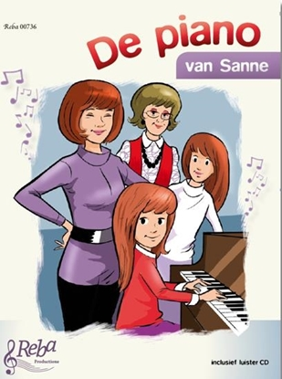 Afbeeldingen van De piano van Sanne