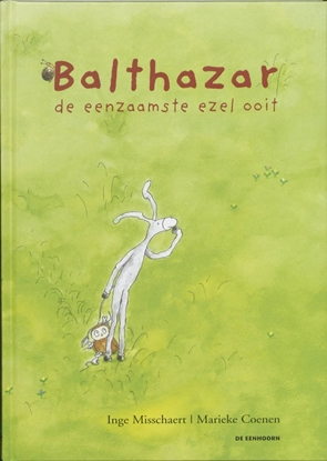 Afbeeldingen van Balthasar, de eenzamste ezel ooit