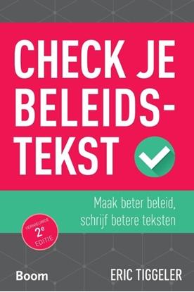 Afbeeldingen van Check je beleidstekst