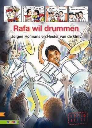 Afbeeldingen van AVI strip Rafa wil drummen