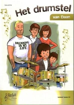 Afbeeldingen van Het drumstel van Daan