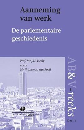 Afbeeldingen van ABV reeks Aanneming van werk, parlementaire geschiedenis