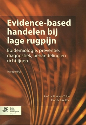 Afbeeldingen van Evidence-based handelen bij lage rugpijn