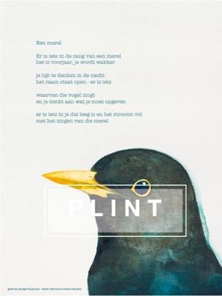 Afbeeldingen van 10 x A4 poster 'Merel' Rutger Kopland