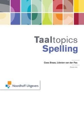 Afbeeldingen van Taaltopics Spelling