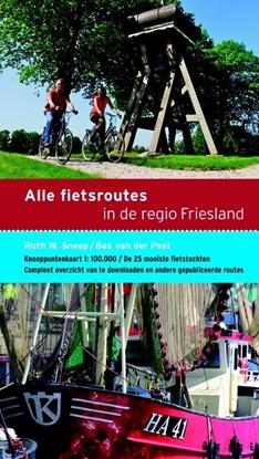 Afbeeldingen van Alle fietsroutes in de regio Friesland