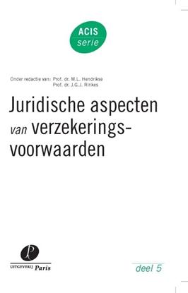 Afbeeldingen van ACIS-serie Juridische aspecten van verzekeringsvoorwaarden