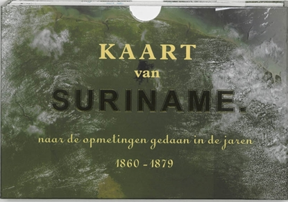 Afbeeldingen van Kaart van Suriname Facsimile editie