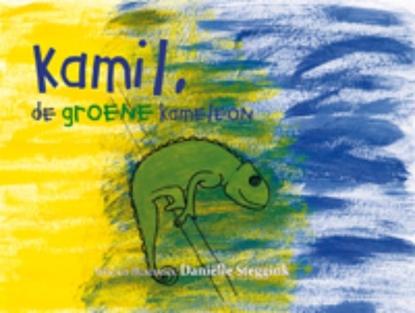 Afbeeldingen van Kamil, de groene kameleon