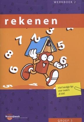 Afbeeldingen van Brainz@work Rekenen groep 3 Werkboek 2
