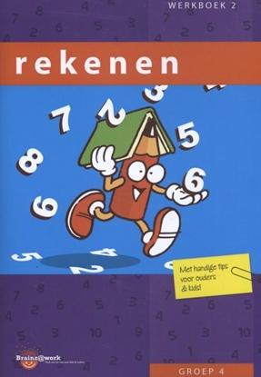 Afbeeldingen van Brainz@work Rekenen Groep 4 Werkboek 2