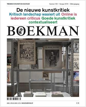 Afbeeldingen van Boekman De nieuwe kunstkritiek