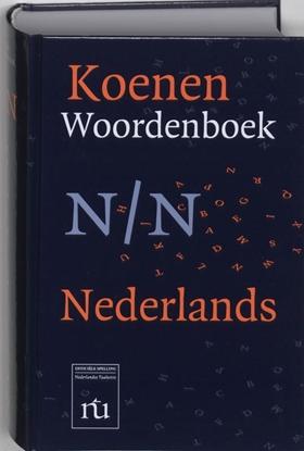 Afbeeldingen van Koenen woordenboeken Koenen Woordenboek Nederlands