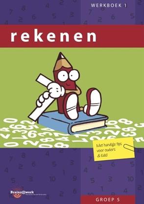 Afbeeldingen van Brainz@work Rekenen groep 5 Werkboek 1