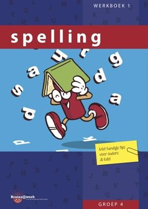Afbeeldingen van Brainz@work Spelling Groep 4 Werkboek 1