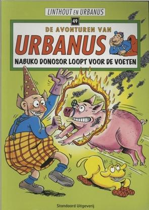 Afbeeldingen van De avonturen van Urbanus Nabuko Donosor loopt voor de voeten
