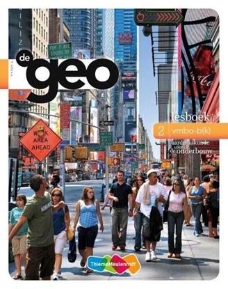 Afbeeldingen van De geo 2 vmbo-b(k); Aardrijkskunde voor de onderbouw Lesboek