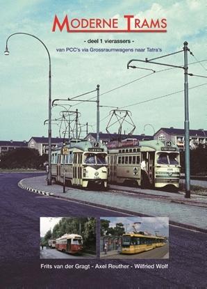 Afbeeldingen van Moderne trams Deel 1 vierassers