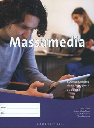 Afbeeldingen van Examenkatern Massamedia maatschappijleer 2 VMBO KGT examenkatern