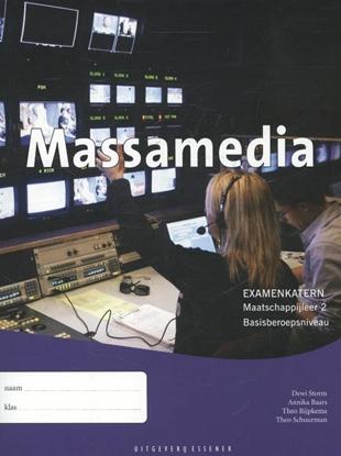 Afbeeldingen van Massamedia Maatschappijleer 2 Basisberoepsniveau Examenkatern
