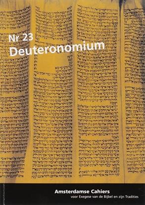 Afbeeldingen van Amsterdamse cahiers Deuteronomium 23