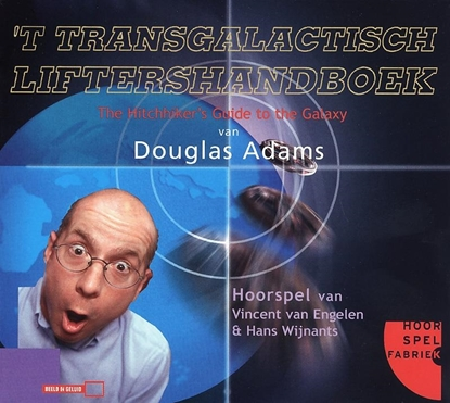 Afbeeldingen van Douglas Adams' Hitchhiker's guide Het transgalactisch liftershandboek